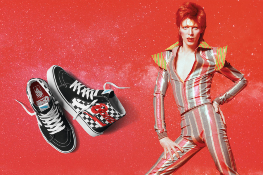 The new Vans x Bowie collection: Can you identify the album cover that inspired each design?