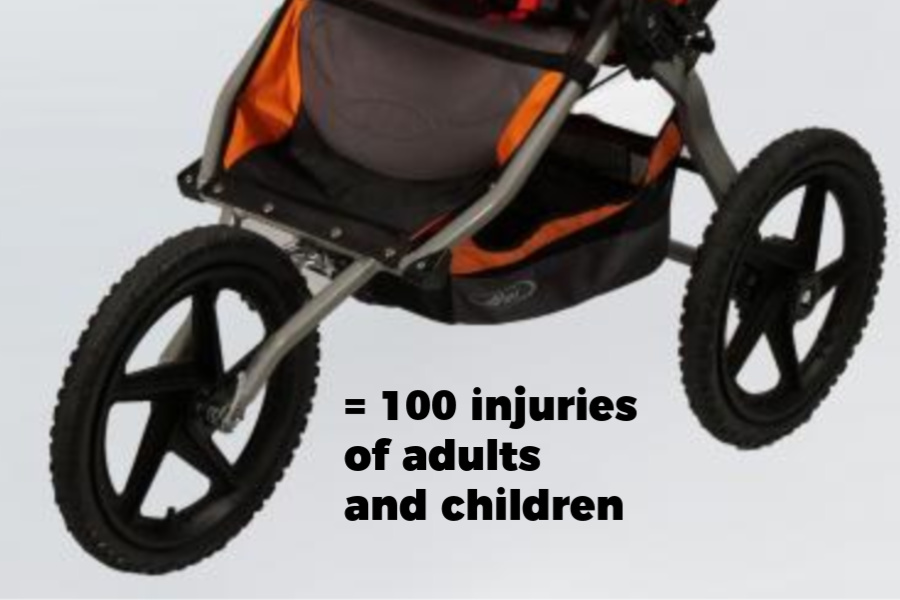 Why Britax BOB strollers weren't recalled after 200 crashes. Spoiler: It's political.