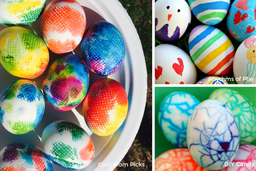 8 Fun Easy Easter Egg Ideas For Toddlers Preschoolers Little Kids