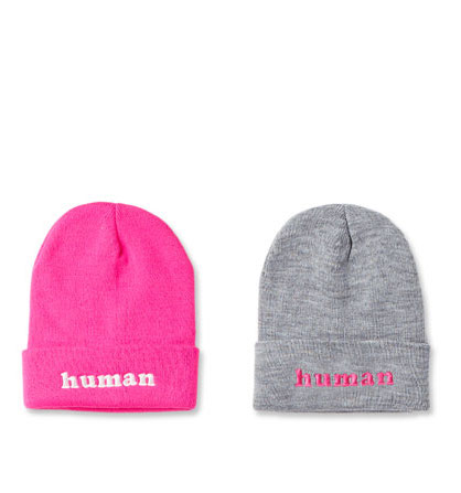Human beanies from Phluid Project