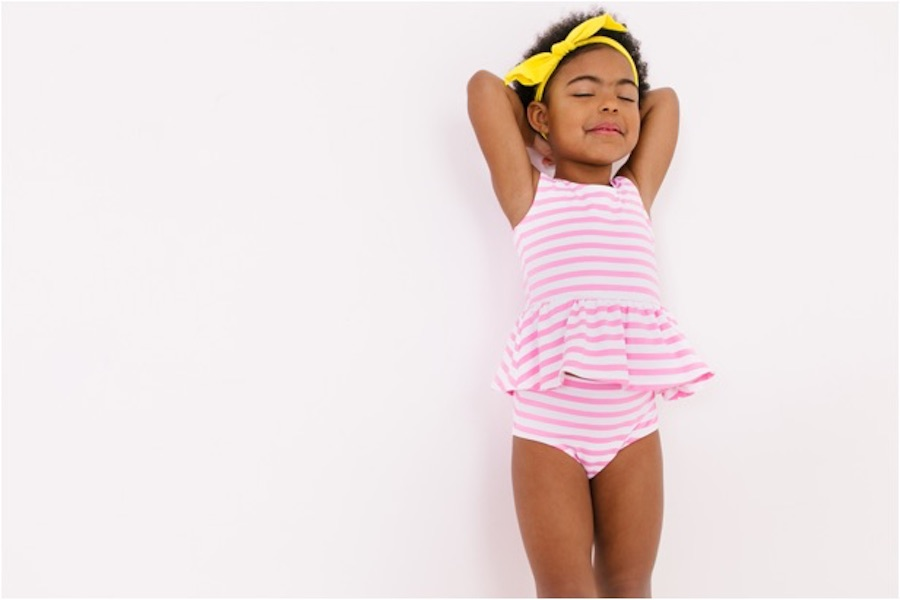 Exclusive look: Get a first peek at June and January's new swim collection for kids!