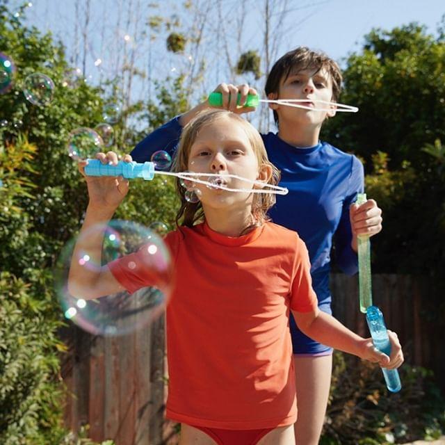 Primary swimwear for kids: Amazing UPF50 mix-and-match basics