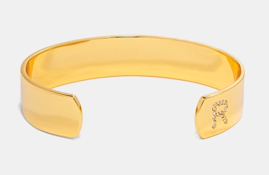 Mother's Day gifts under $25: Pavé initial cuff at Bauble Bar