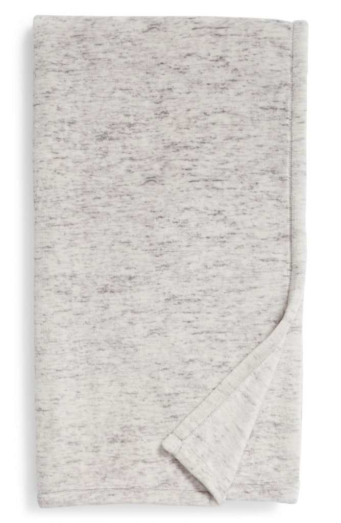 Special Mother's Day gifts under $20: Heathered throw now 50% off at Nordstrom