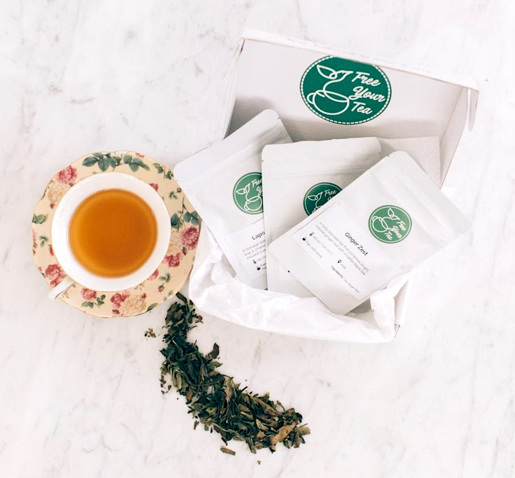 Special Mother's Day gifts under $20: Personalized monthly tea subscription
