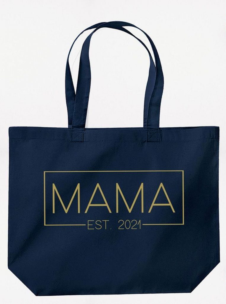 Mother's Day gifts under $25: Mama since... tote bag at Pandorea Shop