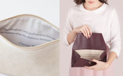 The personalized handbags that are more meaningful than a monogram