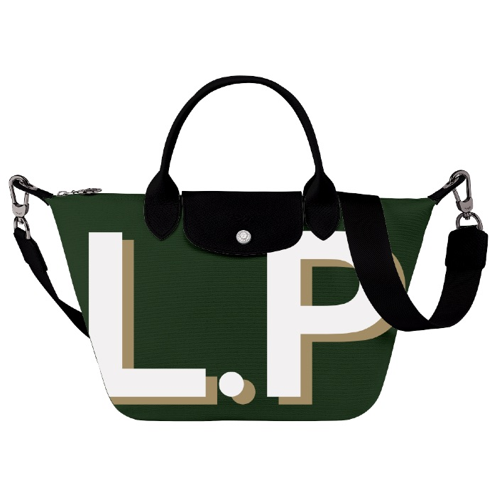 Personalized gifts for grandmothers: The new personalized Longchamps Le Pliage bags are outrageous!
