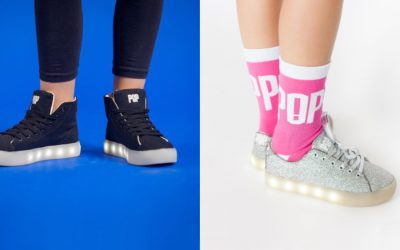Why POP light-up sneakers for kids are the hottest thing in kids' shoes right now.