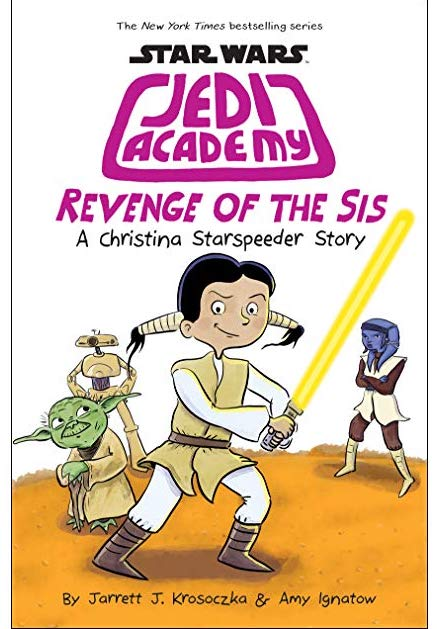 Revenge of the Sis: The new Jedi Academy graphic novel series by Amy Ignatow