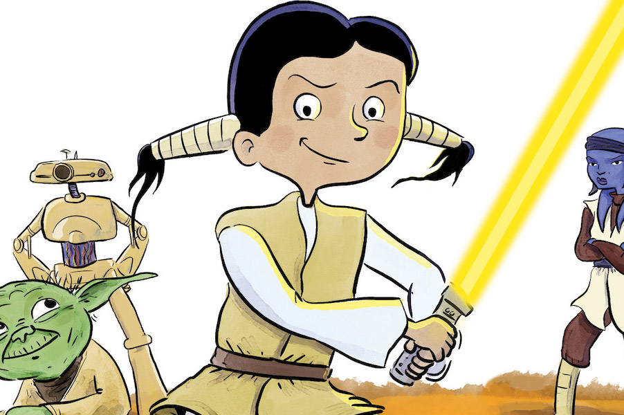 The new Star Wars graphic novel that will get kids bargaining for more reading time