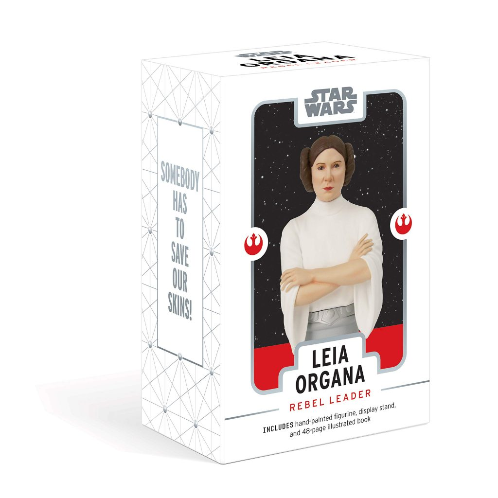 Special Mother's Day gifts under $20: Star Wars: Leia Organa - Rebel Leader box with book