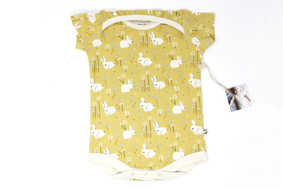 An Easter onesie your baby can wear all spring and summer long