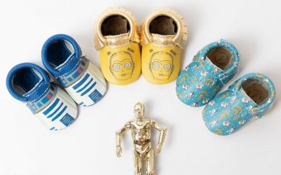 Star Wars x Freshly Picked: The official baby shoe of the Rebel Alliance (and the Imperial Army, for that matter)
