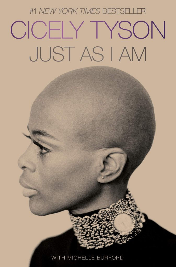 Last minute Mothers Day gift ideas.Just As I Am by Cicely Tyson
