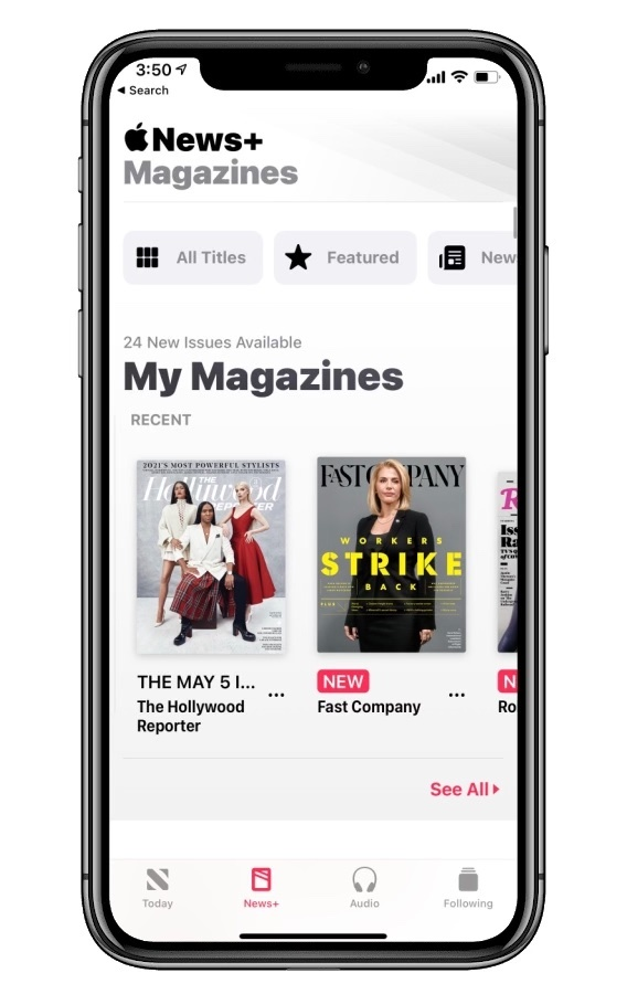 Last Minute Mother's Day Gift Ideas: AppleNews+ Subscription