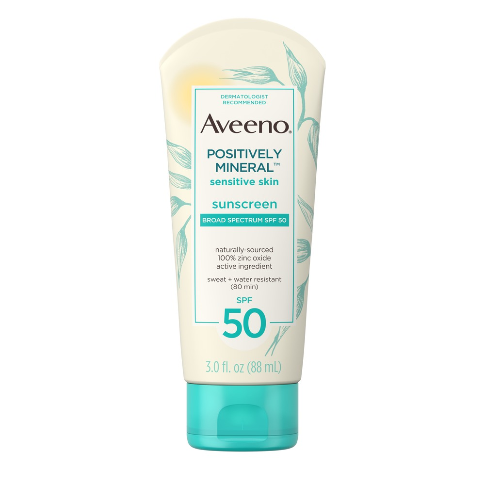 The best mineral sunscreens from saves to splurges: Aveeno Positively Mineral Sunscreen for sensitive skin is hard to beat on price and efficacy