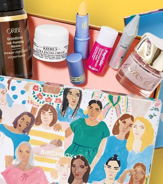 Great subscription gifts for teens: Birchbox makeup boxes