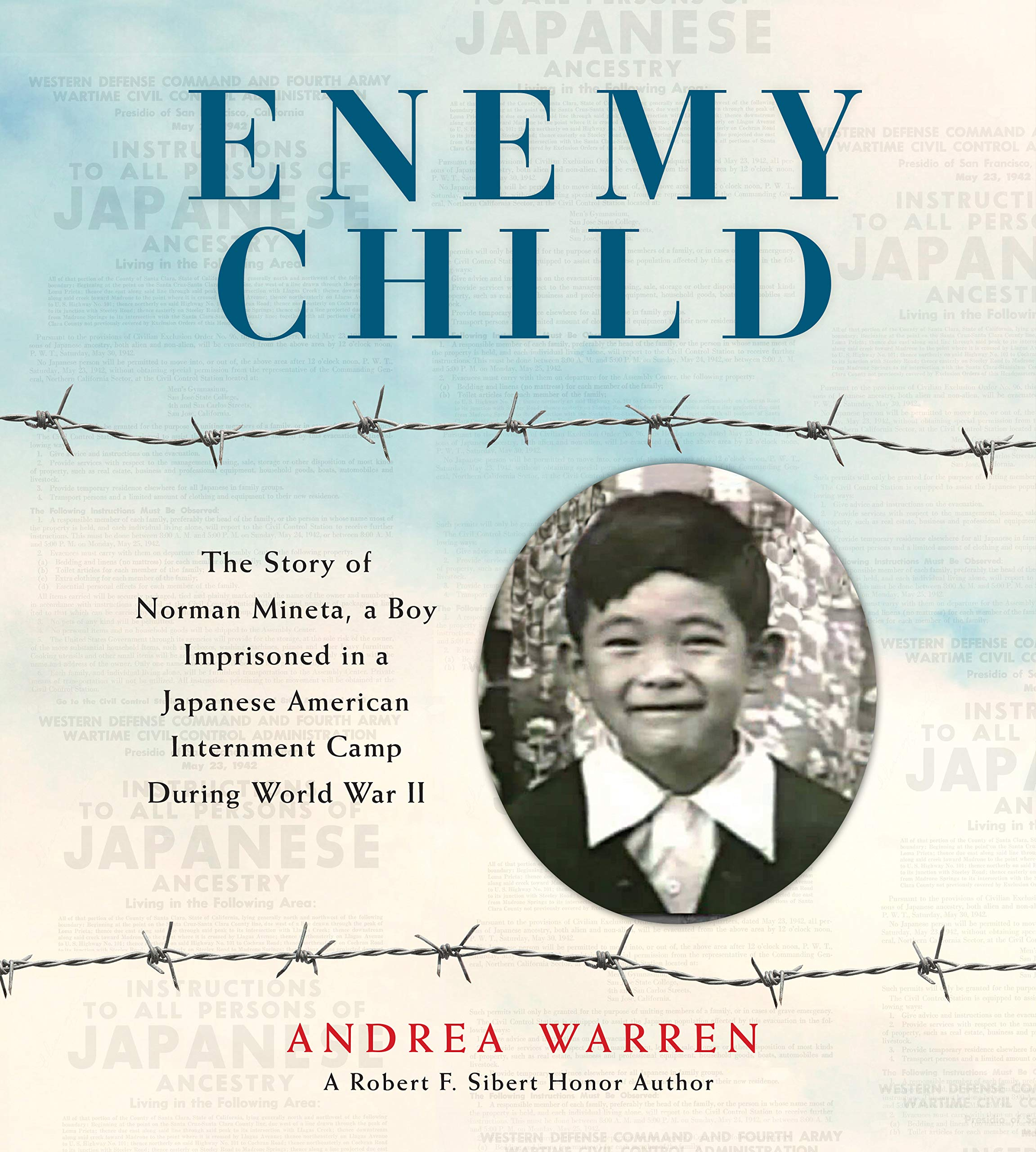 Children's books for Asian American and Pacific Island Heritage Month: Enemy Child by Andrea Warren