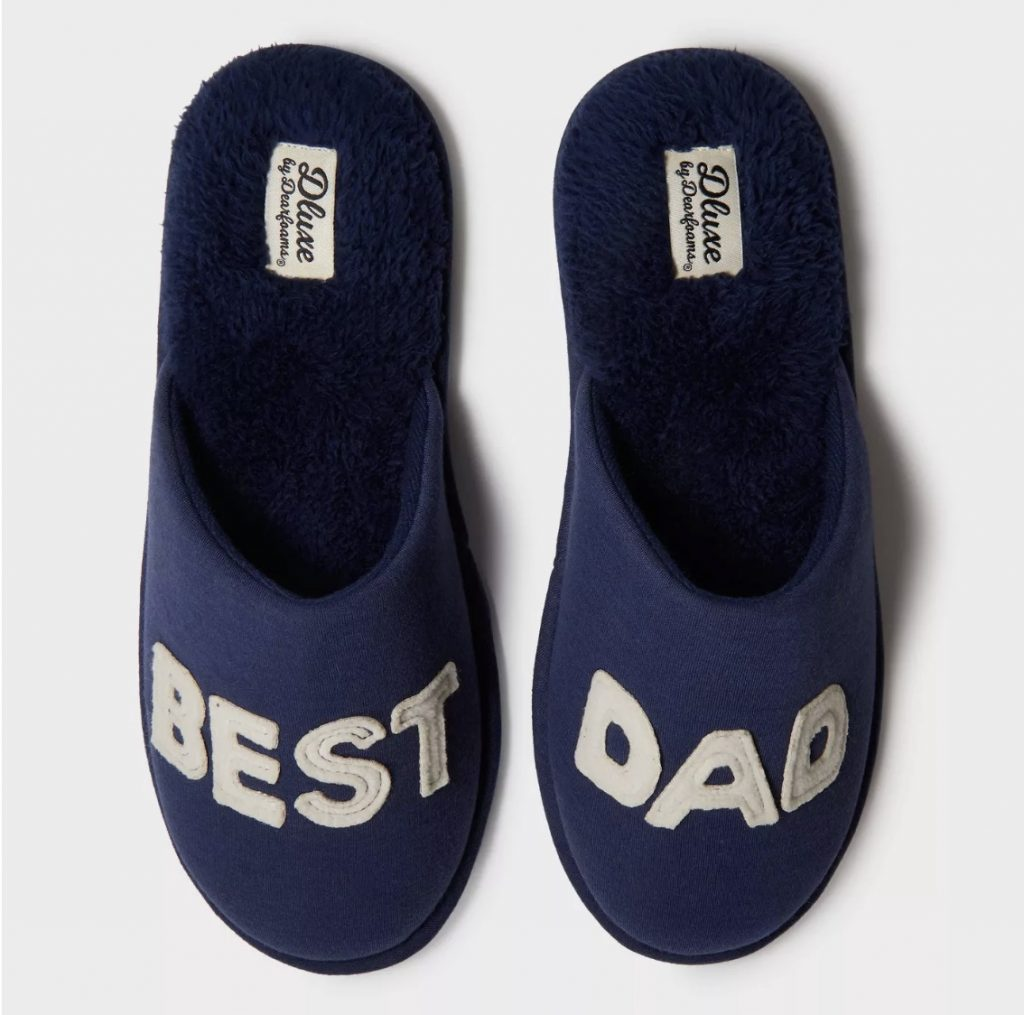 Best Dad Dearfoams slippers: Father's Day Gifts under $15
