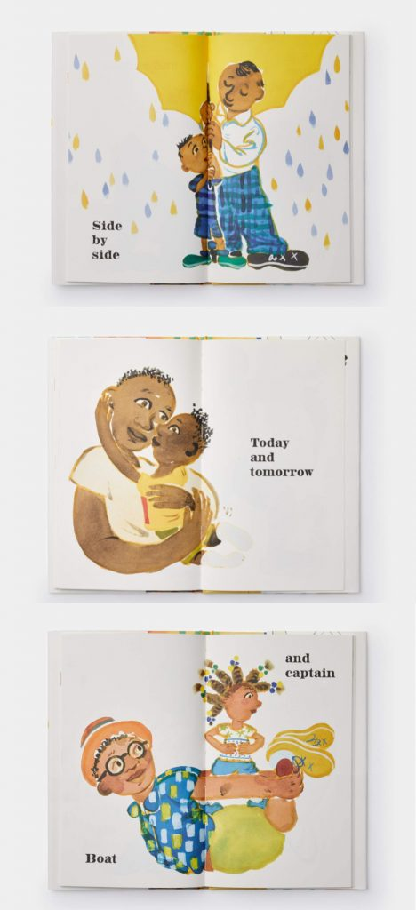 Best new Father's day picture books: Side by Side by Chris Raschka | Father's Day gift guide