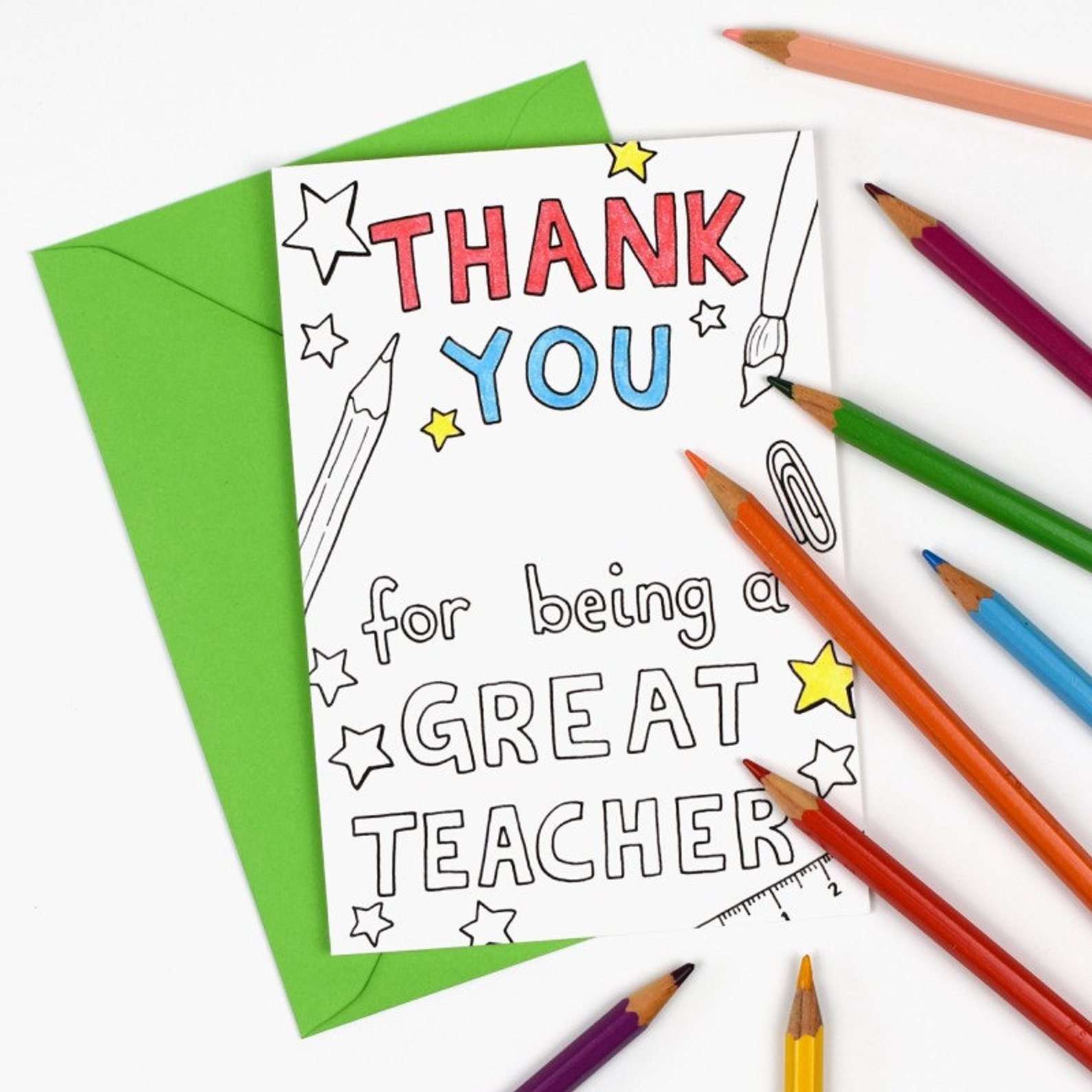 Printable teacher appreciation notes to help our kids show ...