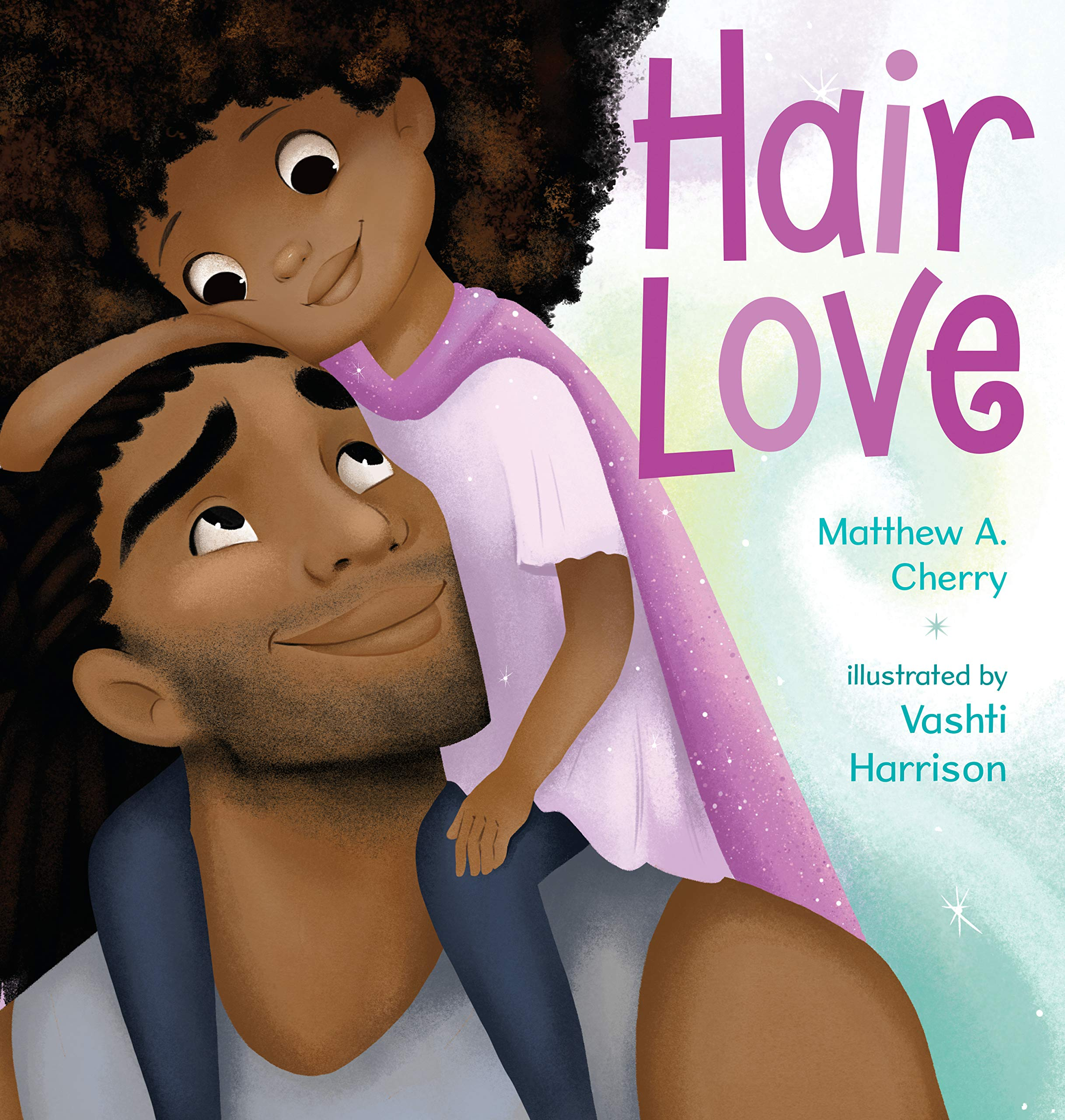 Father's Day picture books: Hair Love by Matthew Cherry