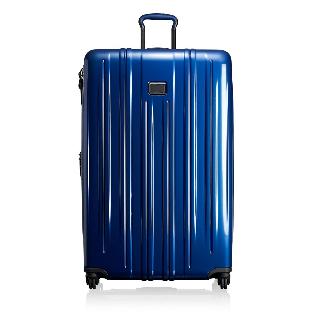 Great high school graduation gift ideas: A solid piece of grownup luggage, like this Tumi worldwide travel bag now on sale