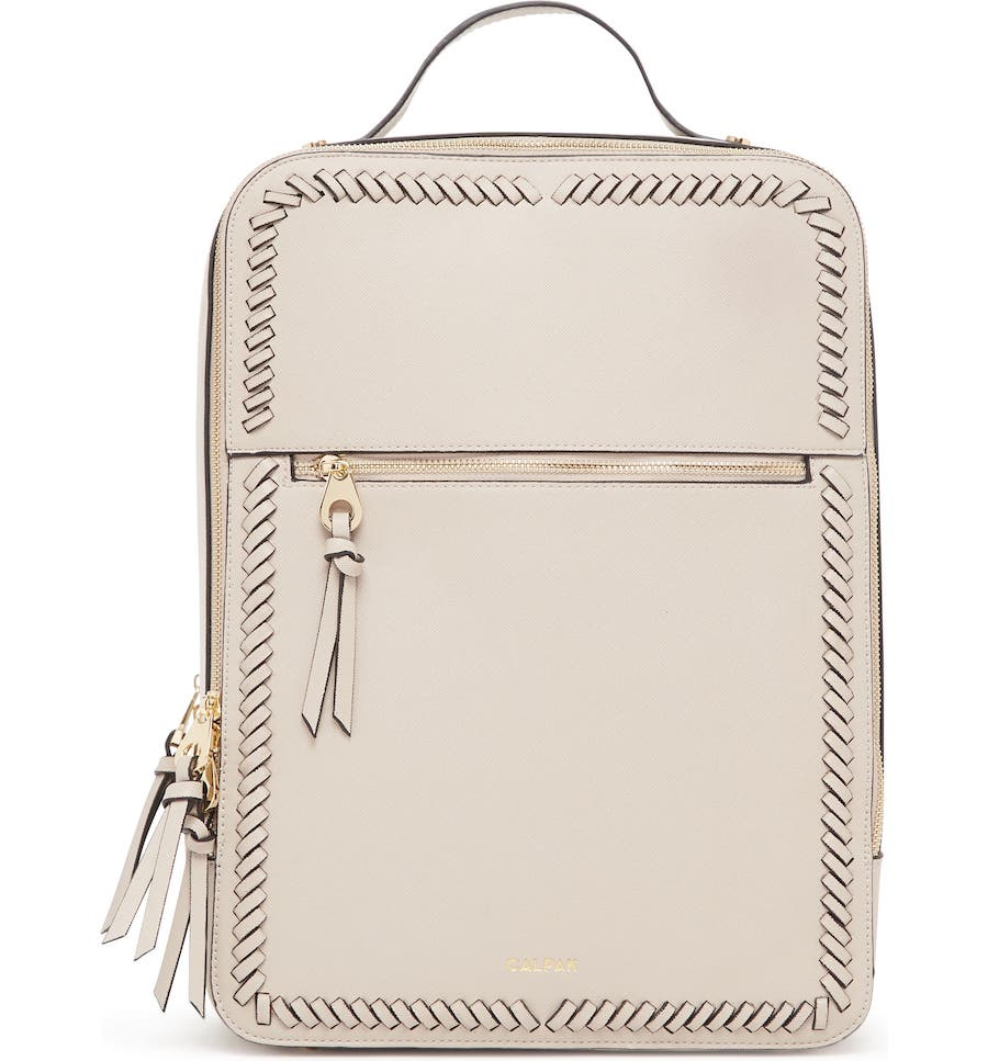 High school graduation gifts they'll actually want: This chic but practical faux leather backpack at Nordstrom in 5 colors