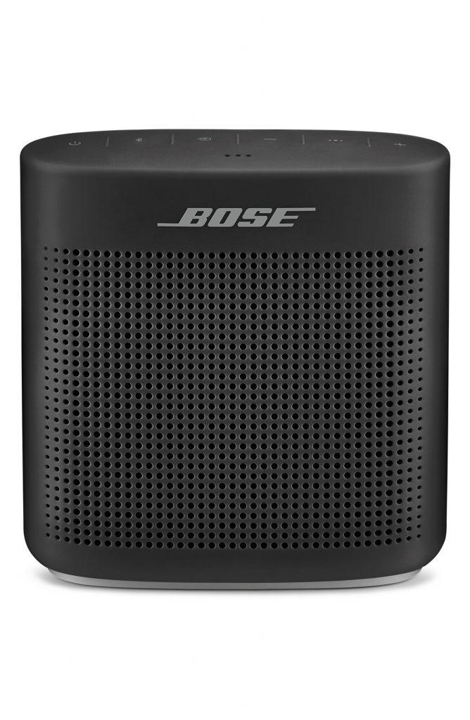 High school graduation gifts kids will actually like: The Bose Soundlink Bluetooth speaker is the perfect size for a dorm room, with wonderful booming sound