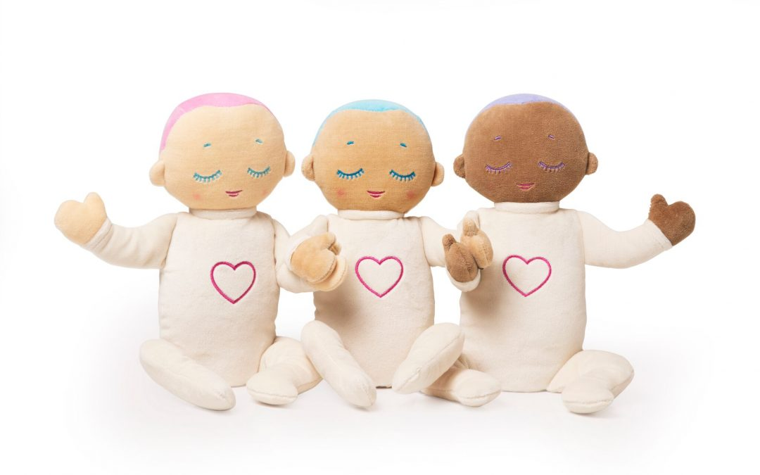 Lulla dolls mimic Mom's breathing for a better night sleep for all