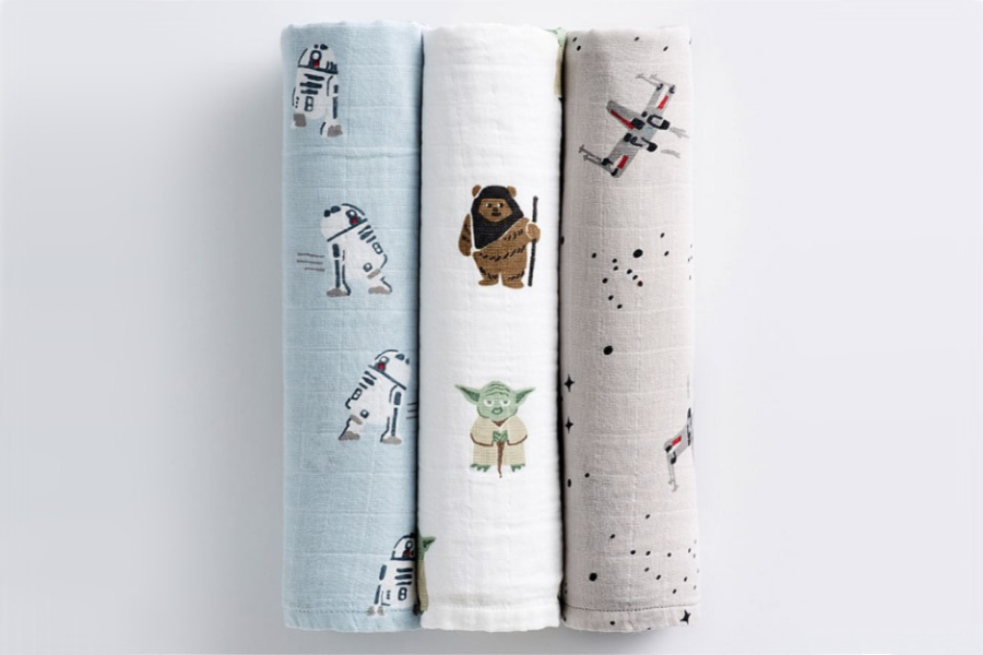 May the Fourth is definitely with you, with the cutest Star Wars baby and kids gifts on sale