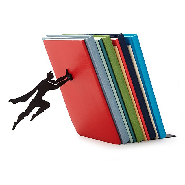 Unique Gifts for Dads who have Everything: Hero bookend