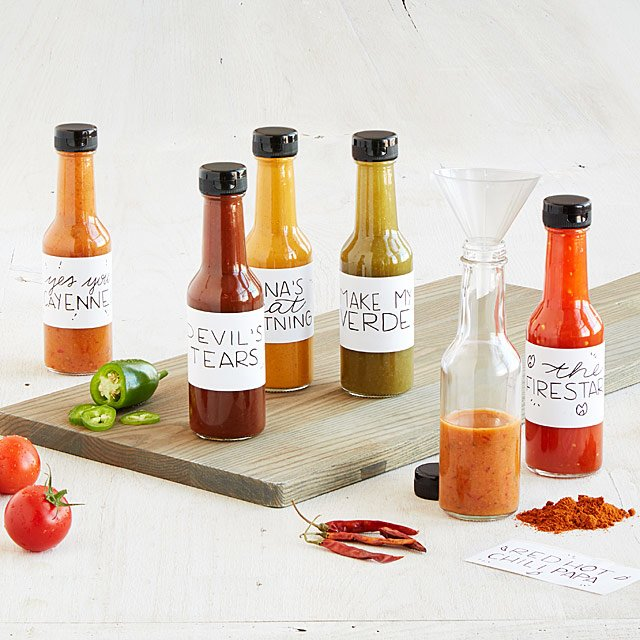 Unique gifts for dads who have everything: Make your own hot sauce kit