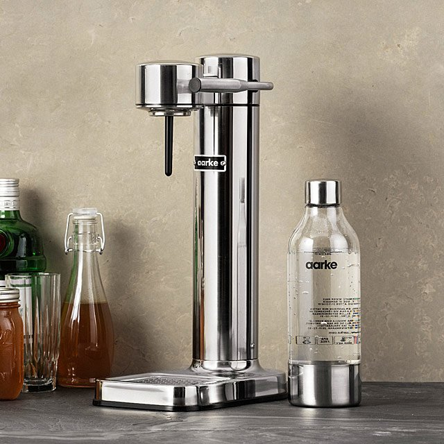 Unique gifts for dads who have everything: Sparkling water carbonator by Arke