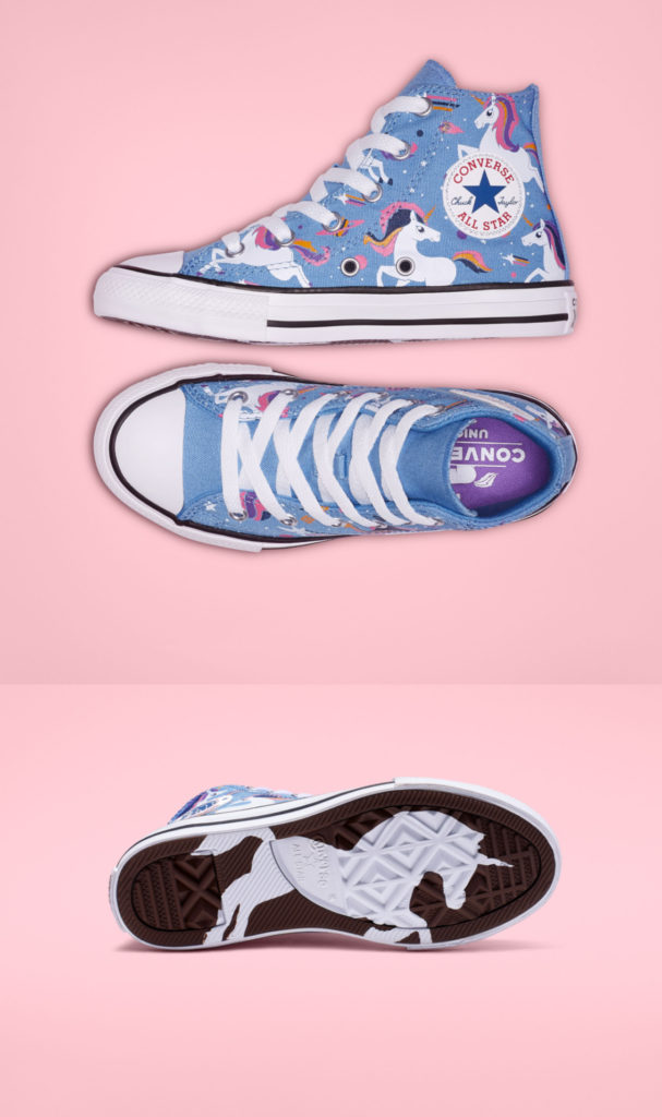 Converse unicorn Chuck Taylors | The Coolest Birthday Gifts for 8 year olds