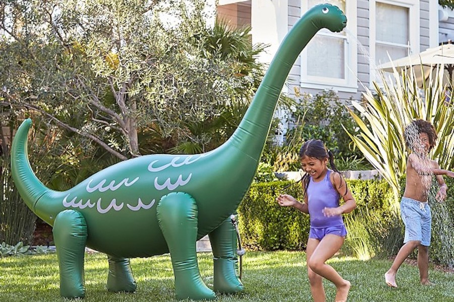 7 crazy lawn sprinklers that will get your kids outside all summer long.