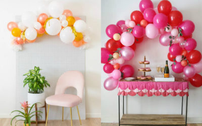 3 different ways to make DIY balloon arches for your next party. Make your entrance!
