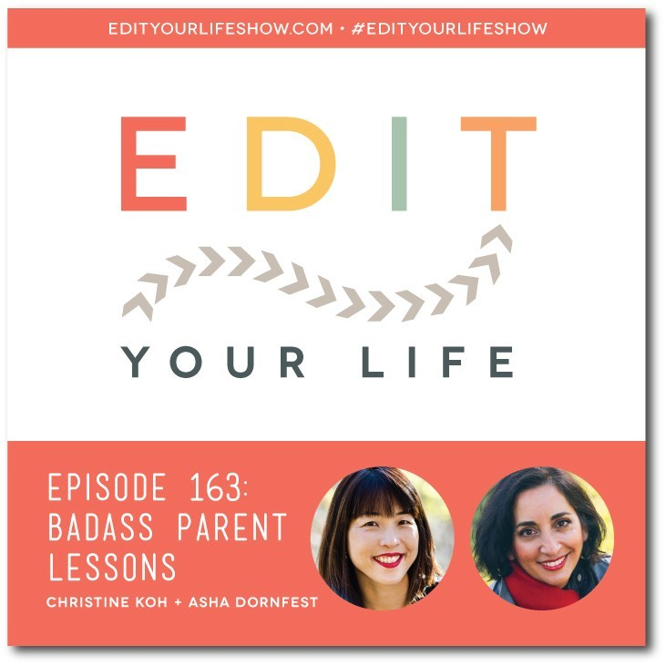 Cool podcast of the week: Edit Your Life Show hosted by Christine Koh and Asha Dornfest