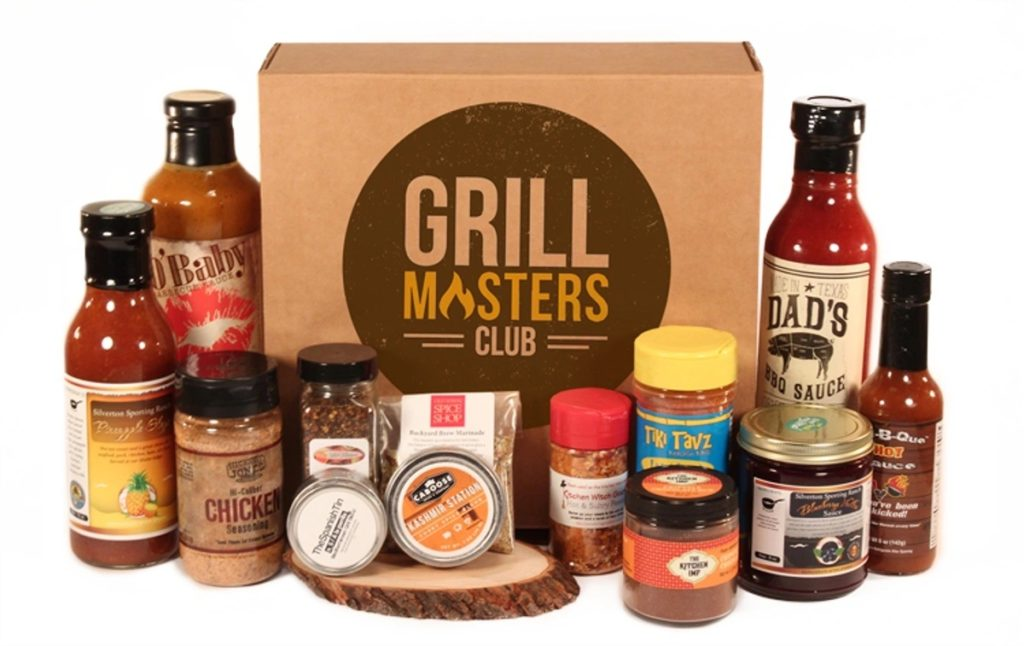 Grillmasters Club subscription Box for last minute Father's Day gifting