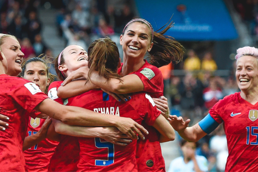 How to watch the US Women's Soccer Team (beat France) in the Women's World Cup quarterfinals?