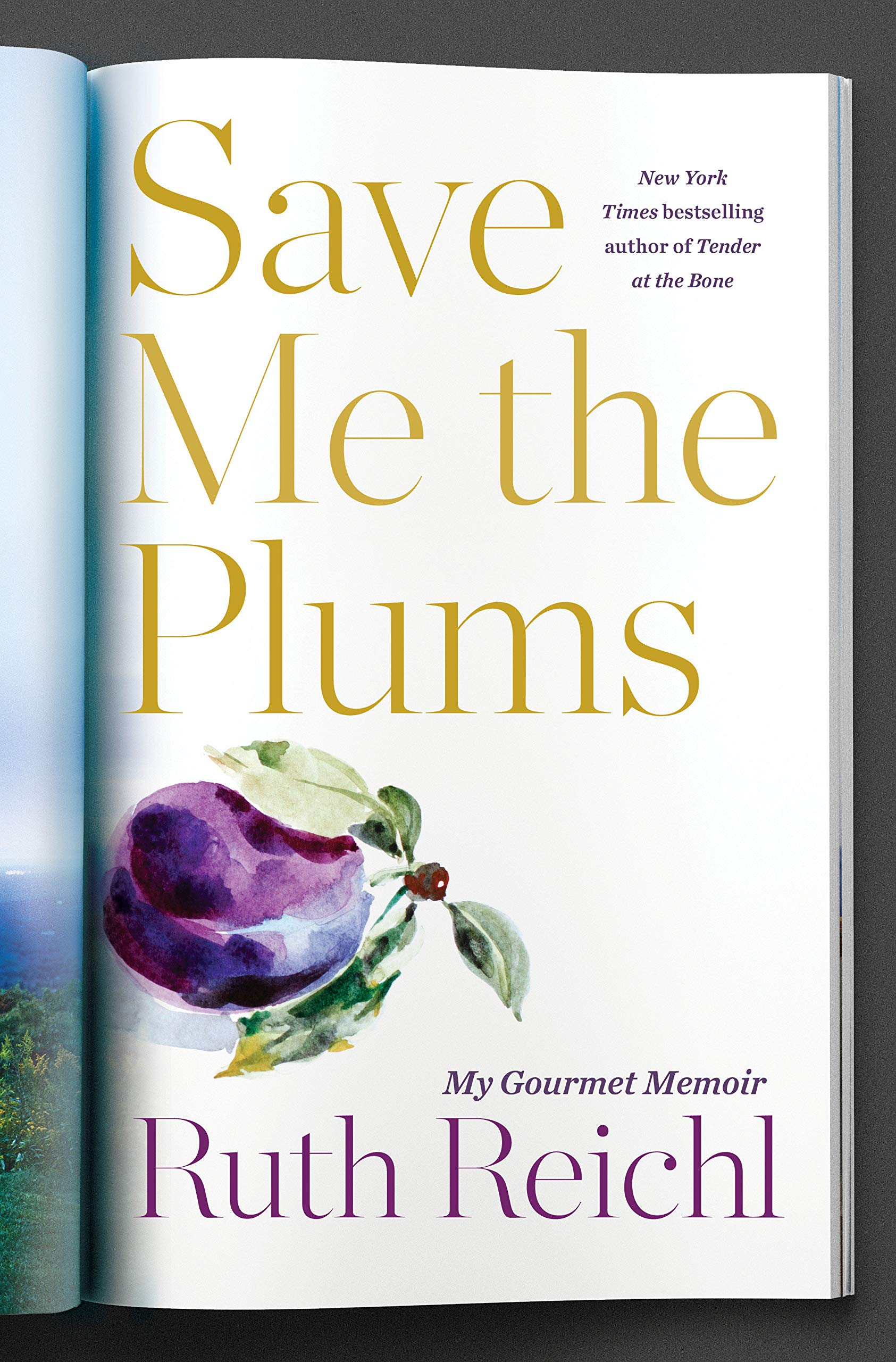 Great new books by diverse women authors: Save Me the Plums by Ruth Reichl