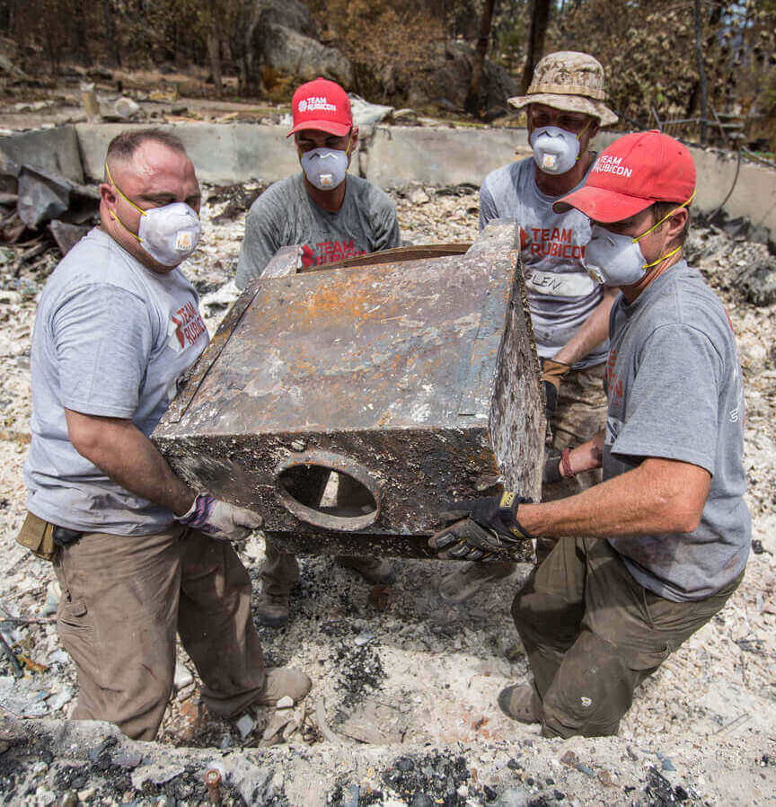 Last minute Father's Day donations in his name: A charitable gift to Team Rubicon