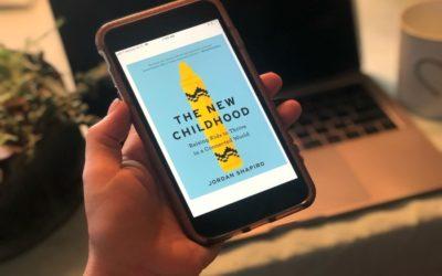 Cool Mom Picks Book Club Selection 5: The New Childhood by Jordan Shapiro