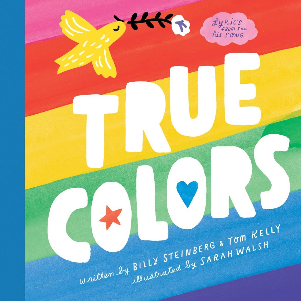 True Colors board book adapted from the lyrics | Great baby shower gift udner $15