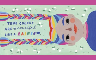 True Colors is a gorgeous picture book inspired by the song, and we're crying from page 1.
