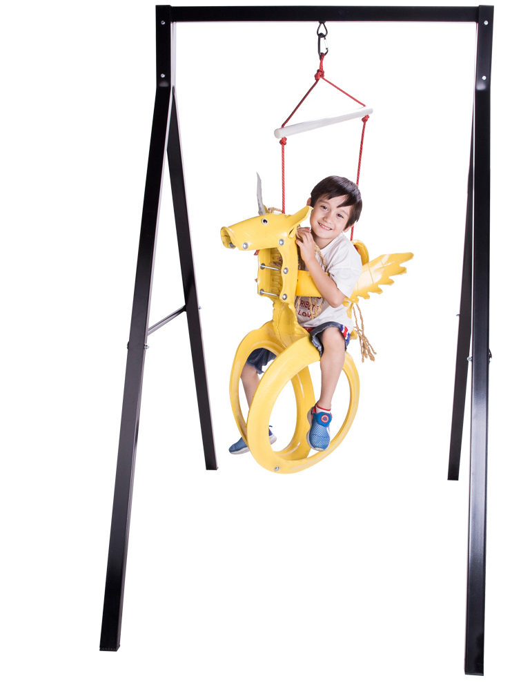 Upcyled Unicorn Tire Swing Best Birthday Gifts For 4 Year Olds