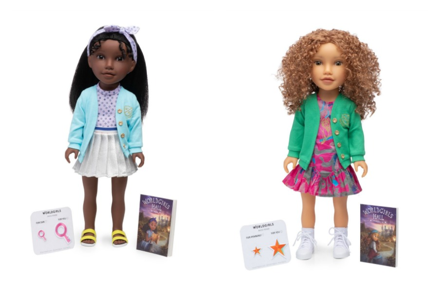 Worldgirls Dolls are here to help girls embrace their inner power. Yes!