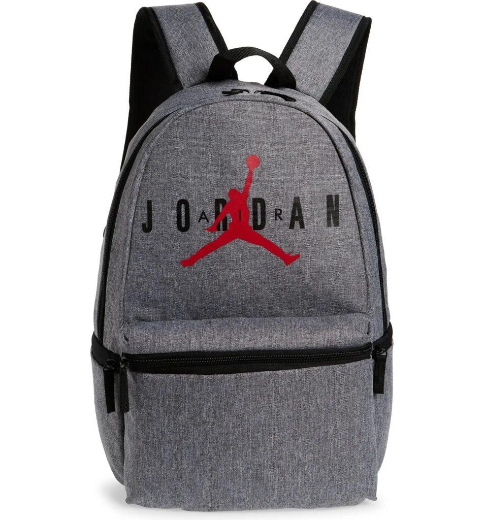 """Cool backpacks for teens: Classic """"Jumpman Logo"""" Air Jordan bag"""