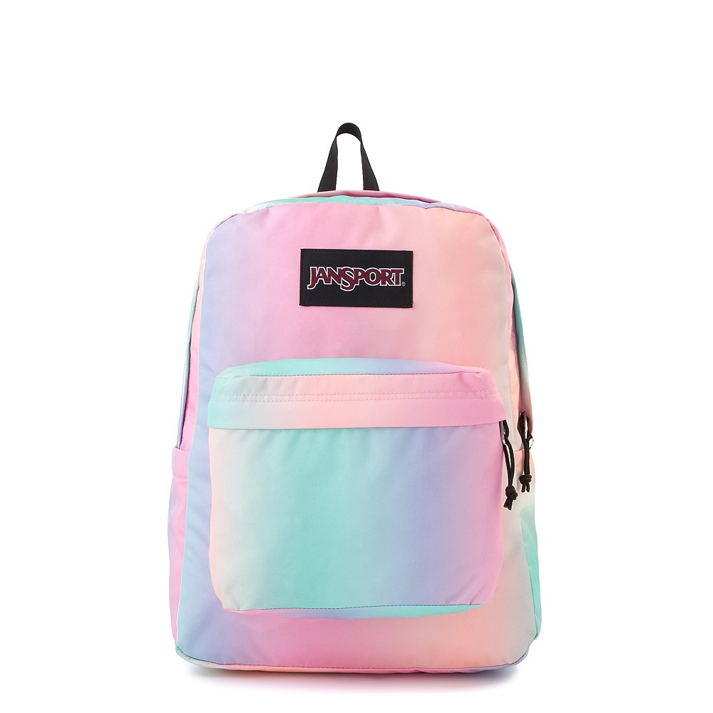 Cool backpacks for teens: Pastel Ombre at Jansport